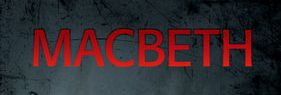 Auditions for City Theatre's Production ofMACBETH