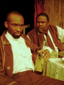 THE WHIPPING MAN's Austin Premiere at City Theatre L to R: Richard R. Romeo and Robert Pellette in THE WHIPPING MAN.