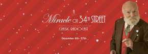 It's Santa Clause! A Review of Penfold Theatre's A Miracle on 34th Street by Patrick McElhinney