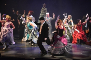 A Christmas Carol Lights Up And Rocks On at ZACH Theatre! by Olin Meadows