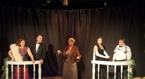 "Over The Moon -Sam Bass Theatre Produces ""Moon Over Buffalo."" By Patrick McElhinney"