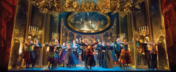 _THE PHANTOM OF THE OPERA 4 - The Company performs Masquerade - photo by Alastair Muir